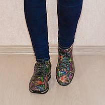 Кроссовки тропики кожаные 8059, фото 3
