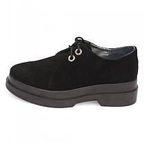 Туфли замшевые на платформе 8123, фото 3