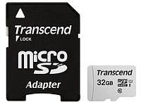 Карта памяти transcend microsdhc 300s 32 Гб uhs-i u1 с адаптером (ts32gusd300s-a)