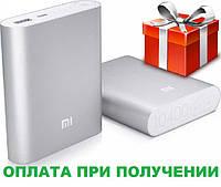 Внешний аккумулятор портативная зарядка Power Bank Повер Банк XiaoMi 10400mAh металический. универсальный АКБ, фото 1