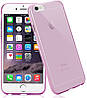 Чехол-накладка TOTO TPU case 0.2mm iPhone 6/6s Clear/Pink