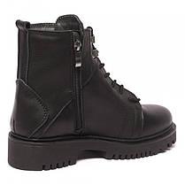 Ботинки кожаные на шнурках 8460, фото 3