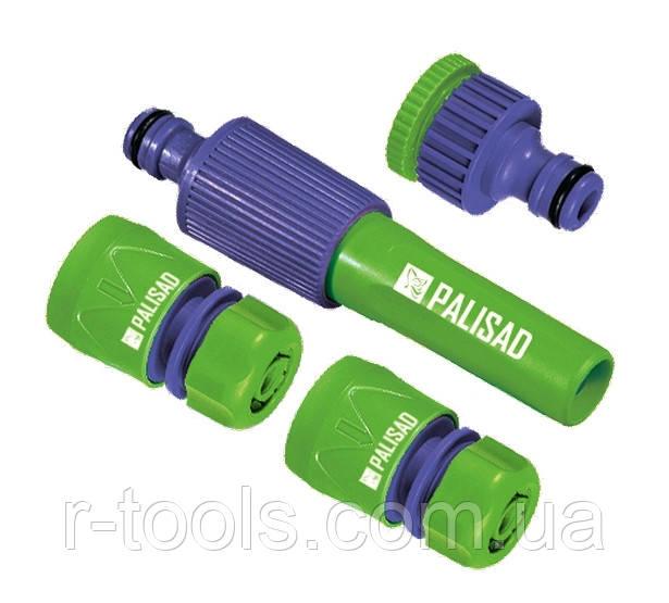 Набор для подключения шланга 3/4 распылитель 3 адаптера к распылителю PALISAD 651798