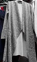 Женская теплая кофта кардиган