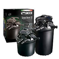 Напорный фильтр для водоемов Sicce Green Reset 25 УФ - лампа 10W