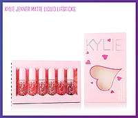 Набор матовых помад Kylie Jenner Matte Liquid Lipstick 6 шт., Качество