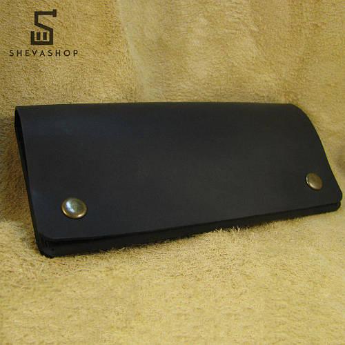 aa1448ef45b2 Кожаное мужское портмоне ручной работы Harus чёрный