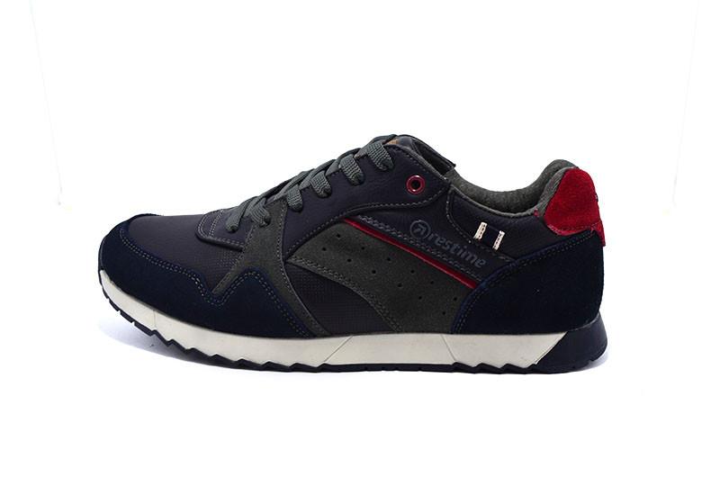 4f179aa7 Мужские кроссовки Restime 18520 BQ 99527 Navy р. 44 : продажа, цена ...