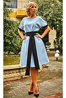 Женское повседневное нарядное платье свободного кроя яркие цвета
