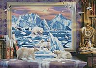 """Схема для вышивания """"На северных льдах"""""""