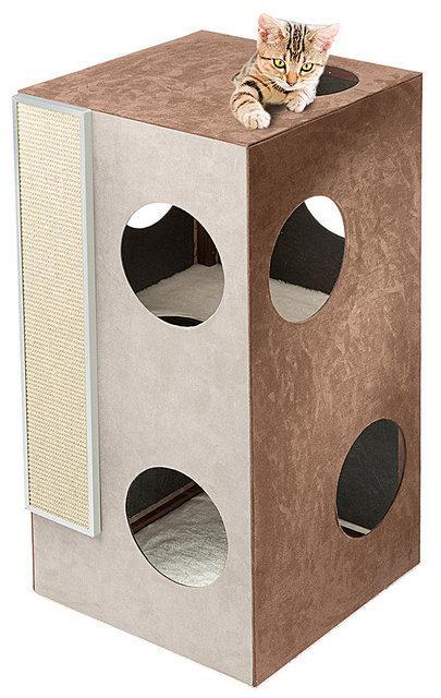 Ferplast Kubo 2 - игровой комплекс для кошек  ( высота 89 см )