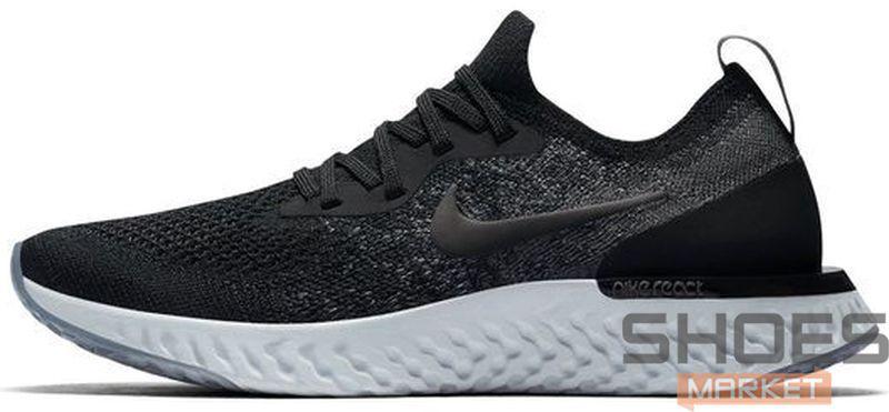 Мужские кроссовки Nike Epic React Flyknit AQ0067-001, Найк Эпик Реакт Флайнит