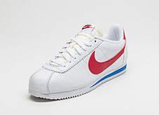 Женские кроссовки Nike Classic Cortez Leather Forrest Gump 749571-154, Найк Кортез, фото 2