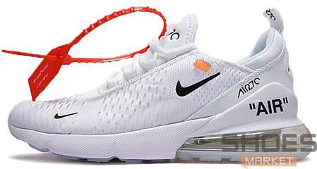 Мужские кроссовки Nike Air Max 270 X Off-White White купить в ... 30303ef0195