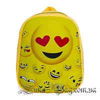 Вместительный 3D рюкзак SMILE (Размер 31*26*10)