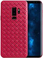 Чехол-накладка Rock TPU Ultrathin Weaving Protective Case Samsung Galaxy S9 Plus G965F Red, фото 1
