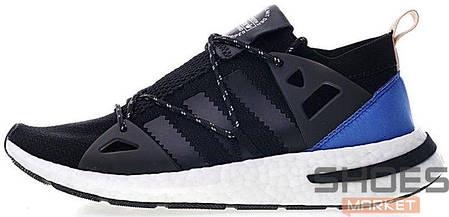 Женские кроссовки Adidas Arkyn Boost Black/Blue CQ2749, Адидас Аркун Буст, фото 2