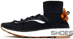 Мужские кроссовки Adidas X Alexander Wang AW Run Black