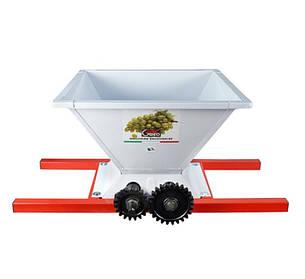 Дробилка для винограда GRIFO, ручная, эмалированная сталь
