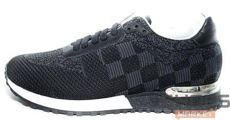 cbc74c746db5 Мужские кроссовки Louis Vuitton Run Away Black купить в интернет ...