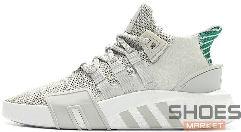 12ddfd63 Женские кроссовки Adidas EQT Basketball ADV Light Grey - Интернет-магазин  обуви и одежды в