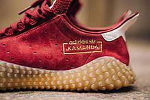 Мужские кроссовки Adidas Kamanda Burgundy/Gum CQ2219, Адидас Каманда, фото 3