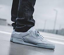 Мужские кроссовки Adidas Yeezy Powerphase Calabasas Grey CG6422, Адидас Изи Поверфаз Калабасас, фото 2