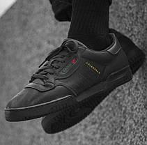 Женские кроссовки Adidas Yeezy Powerphase Calabasas Black CG6420, Адидас Изи Поверфаз Калабасас, фото 3