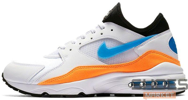Мужские кроссовки Nike Air Max 93 Nebula Blue Orange 306551-104, Найк Аир Макс 93