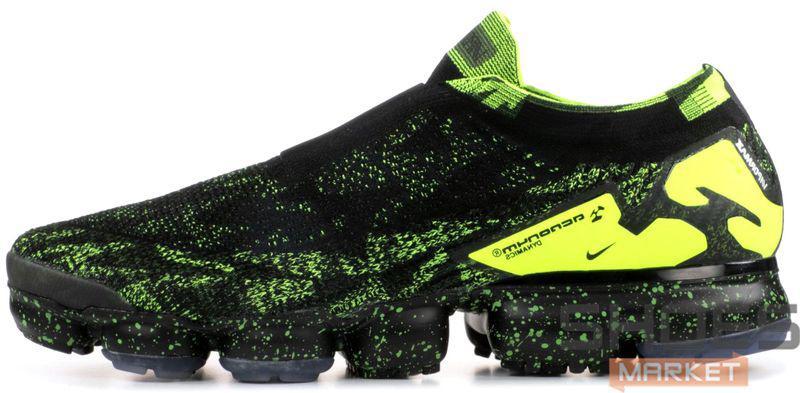 Мужские кроссовки Nike Air VaporMax Moc 2 Acronym Black AQ0996-007, Найк Аир Вапор Макс