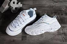 Мужские кроссовки Fila Ray White Reflective FS1SIA1165X, Фила Рей, фото 2