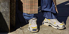 Женские кроссовки Balenciaga Triple S DSM 483513-W06F1-9080, Баленсиага Трипл С, фото 2