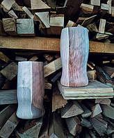 Деревянные  бокалы под пиво