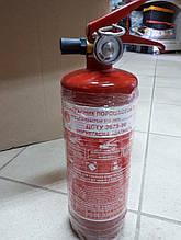Огнетушитель автомобильный порошковый с манометром 1 кг ВП-1