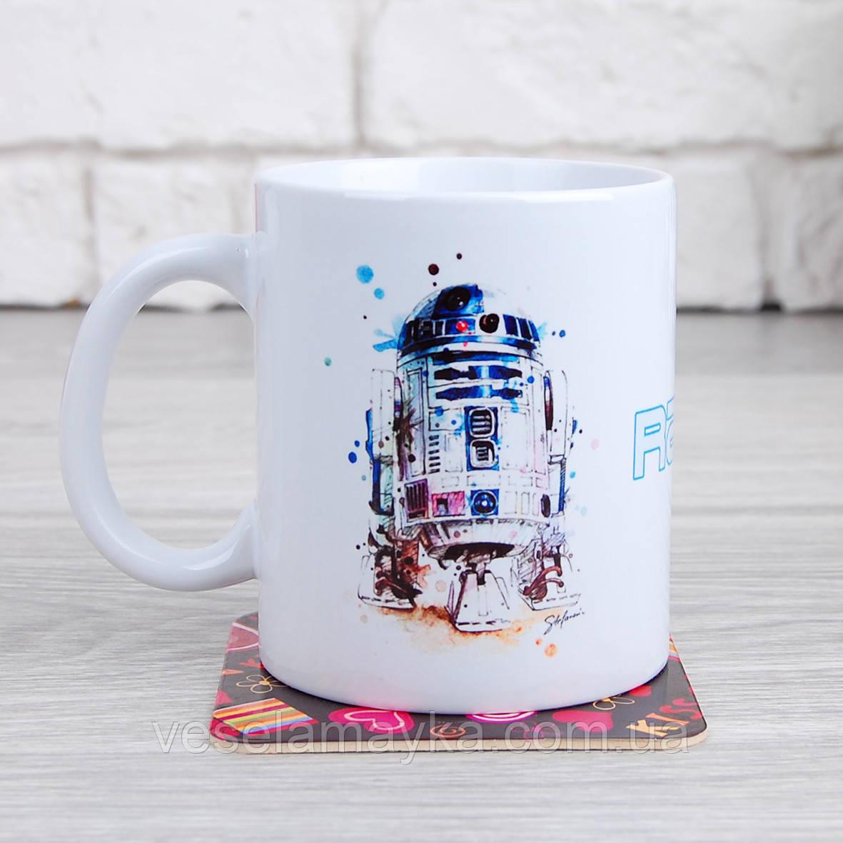 Кружка Звездные войны 6 (R2-D2)