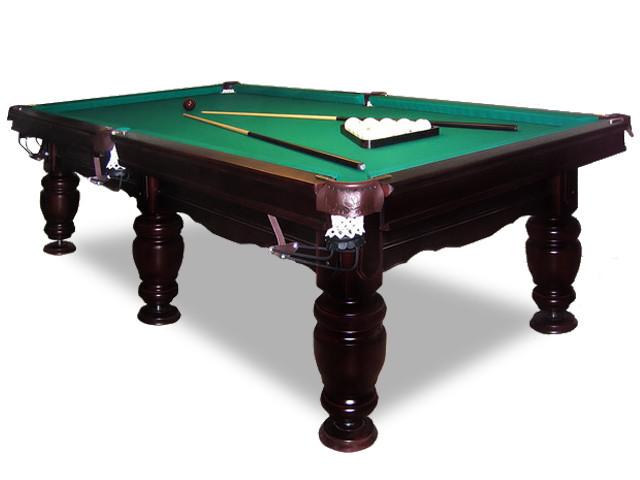 Бильярдный стол для пирамиды ТТ-Бильярд Ферзь 10Ф Ардезия