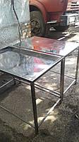 Стол нержавейка дренажный, фото 1