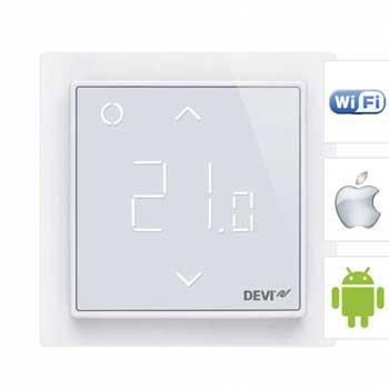 Терморегулятор DEVIreg Smart Wi-Fi белый