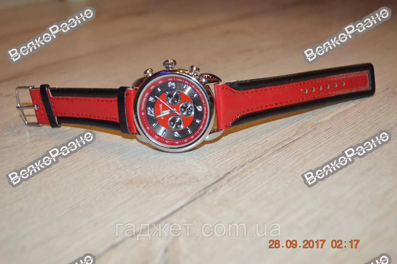 Мужские часы Haoqin красного цвета