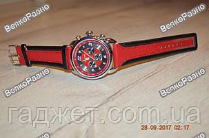 Мужские часы Haoqin красного цвета, фото 2