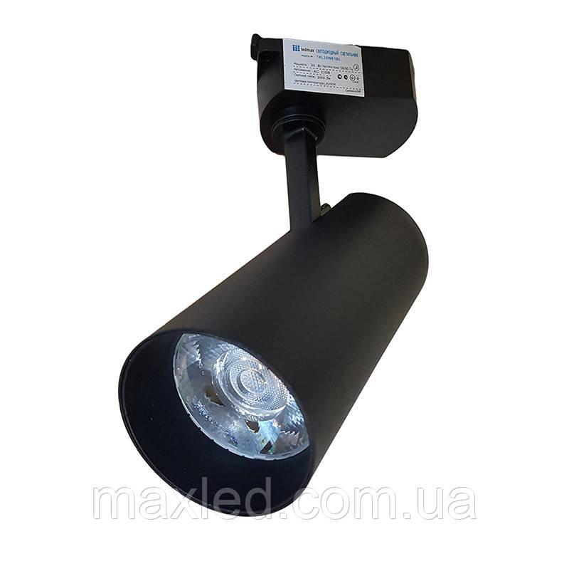 Светильник светодиодный TRL30WE1 BL ЧЕРНЫЙ