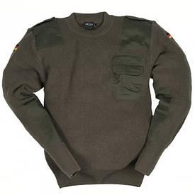 Германия свитер шерстяной олива