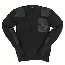 Германия свитер шерстяной черный