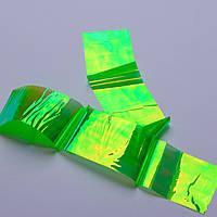 """Фольга """"Битое стекло"""" (зеленый) Master Professional №2, фото 1"""