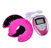 Миостимулятор SUNROZ Breast Enhancer для увеличения груди Розовый (SUN1376)  , фото 1