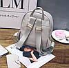 Стильный набор для модных девушек 3в1, рюкзак, клатч и визитница, фото 4