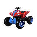Детский полноприводный  электромобиль-квадроцикл красный М3607EL Red деткам 2-6 лет мотор 4*45W, фото 2