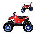 Детский полноприводный  электромобиль-квадроцикл красный М3607EL Red деткам 2-6 лет мотор 4*45W, фото 3