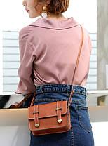 Стильная женская сумка почтальон В Наличии, фото 3