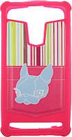 "Чехол-накладка TOTO Universal TPU case with image 5"" Dog Pink, фото 1"
